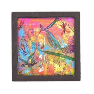 Whimisical Birds and Bugs Art Painting Premium Gift Boxes