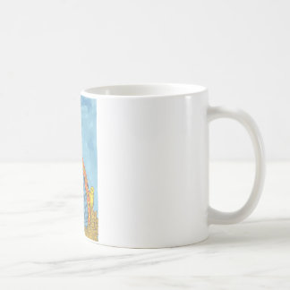 Whimisical Fat Hen and Chicks Coffee Mug