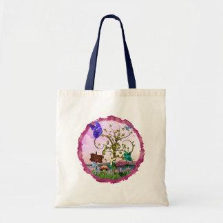 Whimsey Gardens Fantasy Art Budget Tote Bag