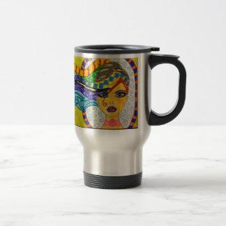 Whimsey Hair  Gal Travel Mug