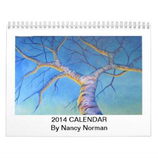 Whimsical 2014 Calendar