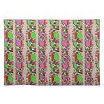 Whimsical ABSTRACT Art : Simple Artistic Pattern Placemats
