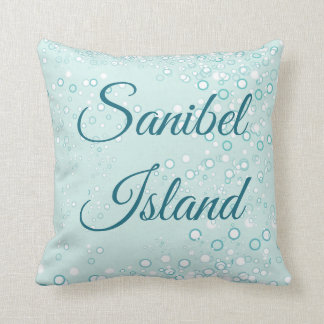 Whimsical and Adorable Seahorse Artwork Throw Pillow
