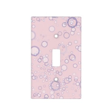 Beach Themed Whimsical and Cute Seahorse Artwork Light Switch Cover