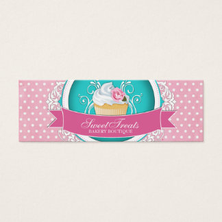 Whimsical and Elegant Cupcake Bakery Tags