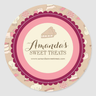 Whimsical and Fun Dessert Labels