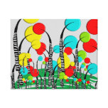 Whimsical and Quirky Tree Art Magical Forrest Gallery Wrapped Canvas