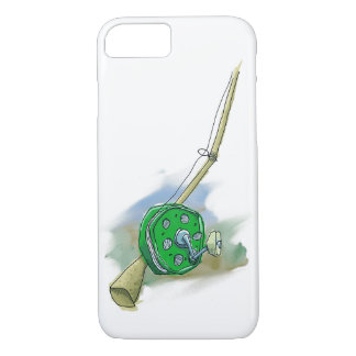 Whimsical Antique Fishing Reel Smartphone Case