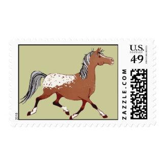 Whimsical Appaloosa Horse Postage