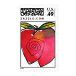 Whimsical Apple Stamp