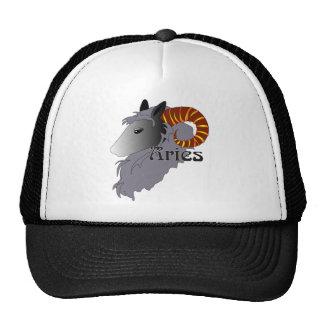 Whimsical Aries Caps Trucker Hat