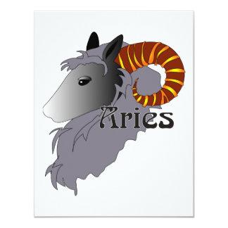 Whimsical Aries Invitations