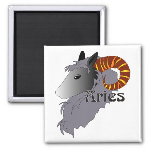 Whimsical Aries Magnets