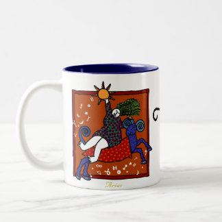 Whimsical Aries Mug