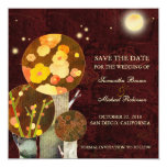 Whimsical Autumn Trees: Save the Date Invitations