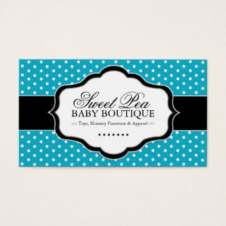 Whimsical Baby Boutique Business Cards