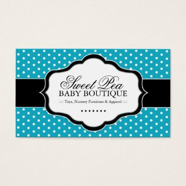 Professional Business Whimsical Baby Boutique Business Cards
