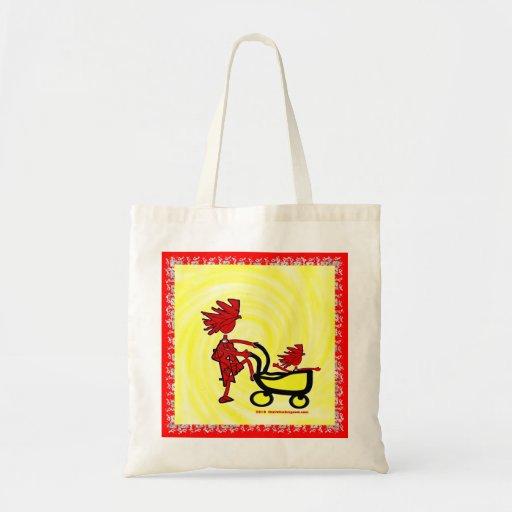 Whimsical Baby Budget Tote Bag