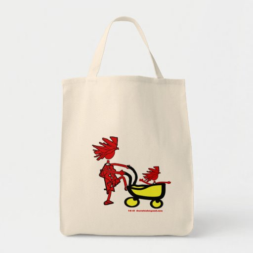 Whimsical Baby Canvas Bag