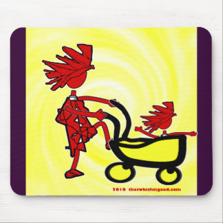 Whimsical Baby Mouse Pad
