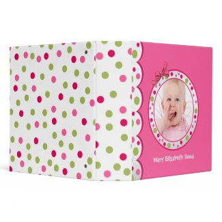 Whimsical Baby Photo Binder
