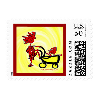 Whimsical Baby Postage