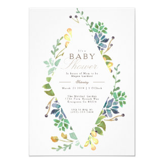 Whimsical Baby Shower | Invite