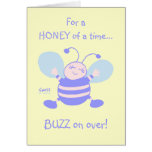 Whimsical Baby's First Birthday Party Invitation Greeting Cards