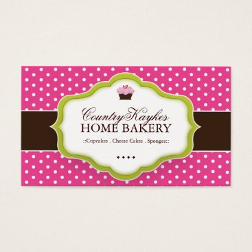 Professional Business Whimsical Bakery Business Cards