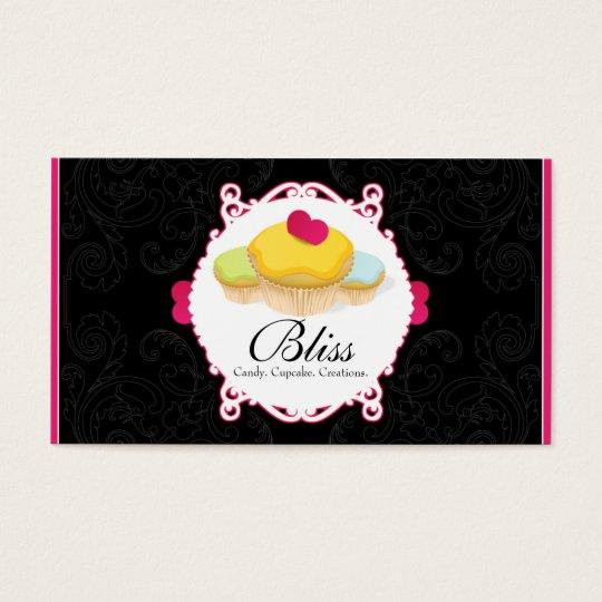 Whimsical Bakery & Cupcake Business Card