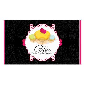 Whimsical Bakery & Cupcake Business Card