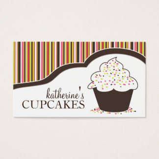 Whimsical Bakery |  Cupcake Business Cards