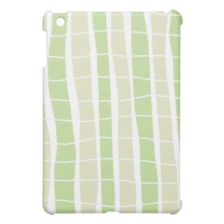 Whimsical Bamboo Plaid Pattern iPad Case