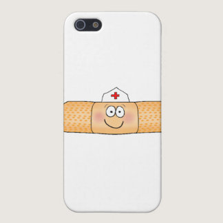 Whimsical Band Aid Bandage with Nurse Hat Cute iPhone SE/5/5s Case