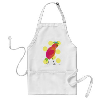 Whimsical Bird Art Gifts~~by Gail Gabel Adult Apron