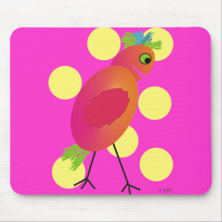 Whimsical Bird Art Gifts~~by Gail Gabel Mouse Pad