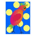 Whimsical Bird Art Gifts~~by Gail Gabel Postcard