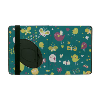 Whimsical Birds and Butterflies iPad Cases