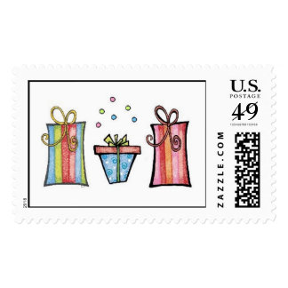 Whimsical Birthday Gifts Postage