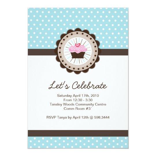 Whimsical Birthday Party Invitation