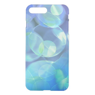 Whimsical Blue Spots Abstract Art iPhone 7 Plus Case