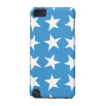 Whimsical Blue Stars iPod Touch Case