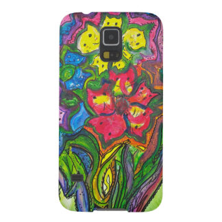 Whimsical Bouquet of Kitties Case For Galaxy S5