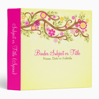 Whimsical Branches Binder