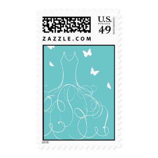 Whimsical Bride Stamp