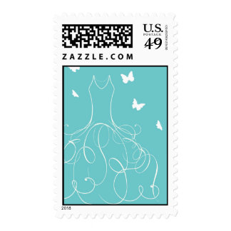 Whimsical Bride Stamp