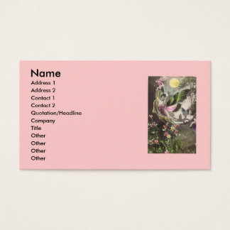 Whimsical Business Card