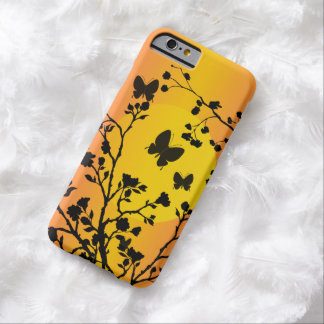Whimsical Butterflies at Sunset Barely There iPhone 6 Case