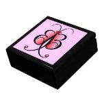 Whimsical Butterfly Bling Bling Jewelery Gift Box Trinket Box