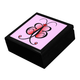 Whimsical Butterfly Bling Bling Jewelry GiftBox Keepsake Box